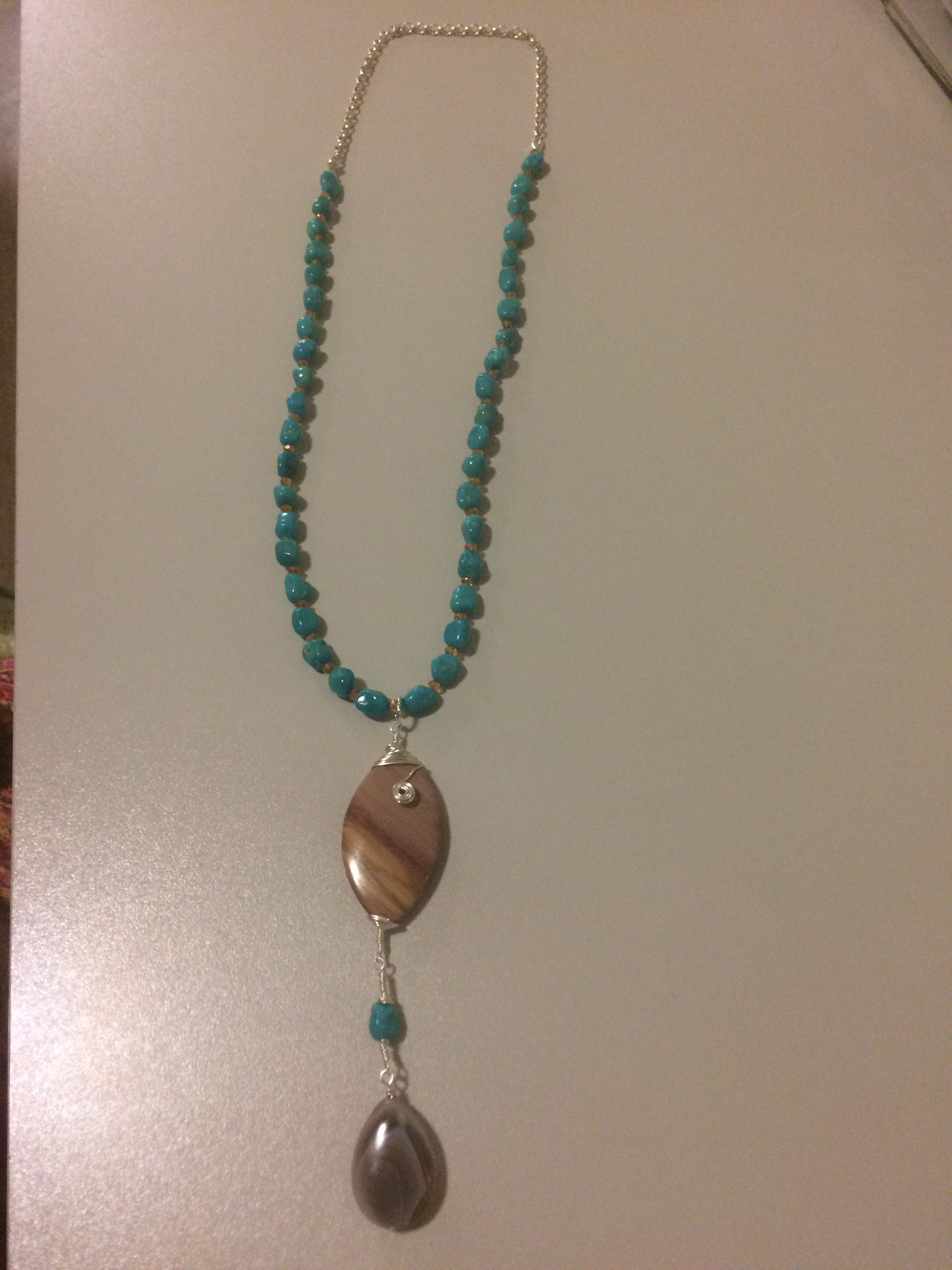 "Turquoise ""Sleeping Beauty"" Necklace"